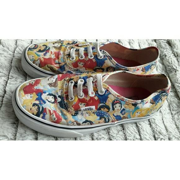 a95b8972ce Vans Shoes - Unisex Disney Princess Vans Shoes Sneakers